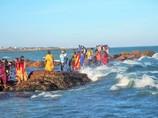 インド最南端の聖地 Cape Comorin