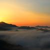 日の出・雲海