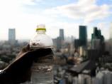 東京タワーを登って・・・水が美味し!
