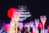 イルミネーション大阪城