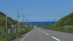 海に続く道