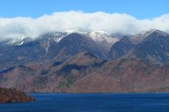 白根山は雪景色