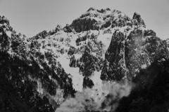錫杖岳 20180122