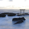 雲海に浮かぶ鳥居