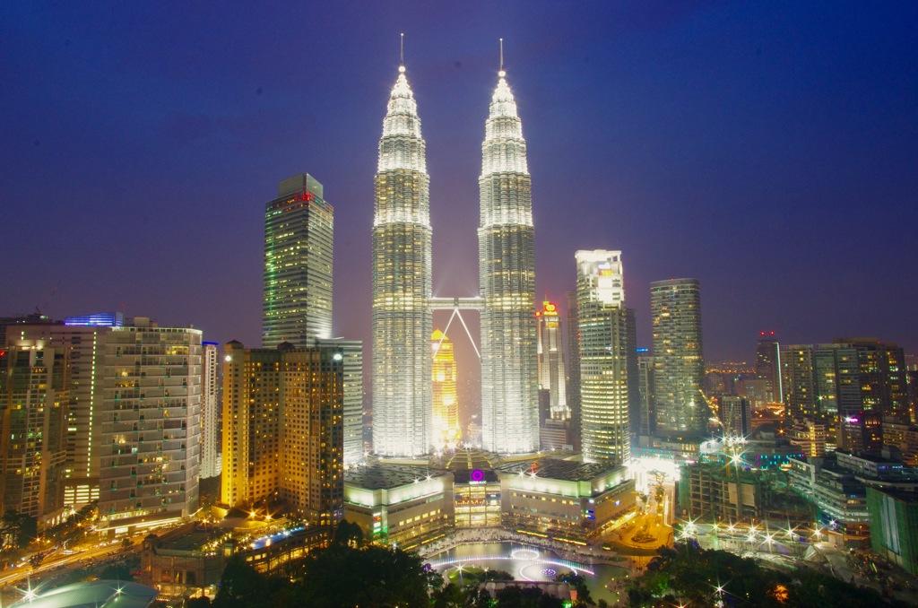 マレーシア/クアラルンプール/Sky Bar (Traders Hotel)から