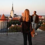 エストニア/タリン/旧市街、展望台