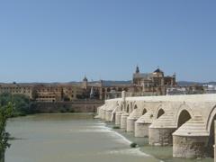 スペイン/コルドバ/ローマ橋とグアダルキビル川