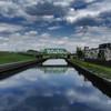 橋、空、電車、隅田川