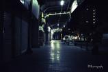 Night alley @ Sasebo