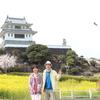 桜&菜の花に囲まれて(^^)/