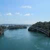 新西海橋から西海橋を望む(^^)/