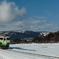 雪原からの今日のソラ