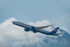 アエロフロートのボーイング 777-300 (VQ-BUB)