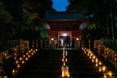 東口本宮冨士浅間神社の紅葉祭_DSC07094