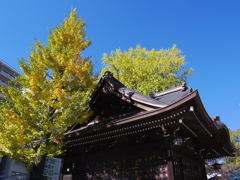 熊野神社の秋
