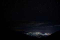 浄土平 夜景