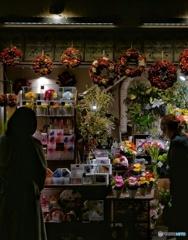 花を売る店