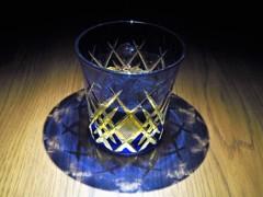 江戸切子 in ウイスキー