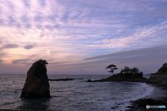 相模湾の夕景
