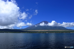 夏の富士五湖 ➉ 山中湖と富士山