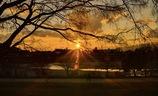 Mukogawa sunset