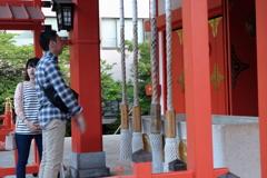 新宿  花園神社③