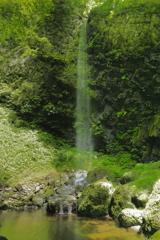 藤里町 素波里不動の滝