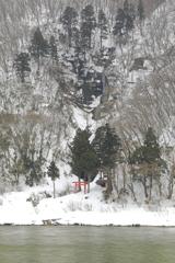 雪中の白糸Ⅱ