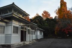伊勢 神宮農業館と紅葉