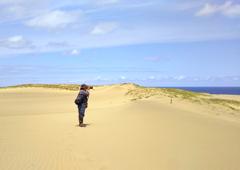 砂丘を撮る!