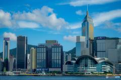 晴天の香港