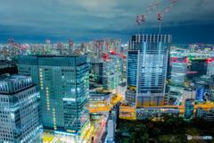 世界貿易センタービルから見る夜の東京