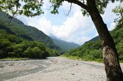 川のある風景