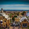 グエル公園から見下ろすバルセロナの街並み