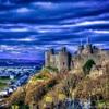 スノードンをのぞむハーレク城