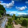 古城から眺めるウェールズの大自然