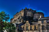 エジンバラ城と青空と