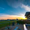 最終レース 夕暮れ中京競馬場