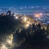 夜景大野城