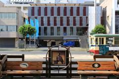 龍馬と路面電車