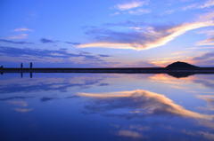 ウユニ塩湖(香川)
