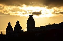 パリ夕刻にて