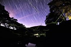 地上の星と空の星