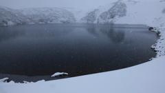 吹雪のみくりが池 V