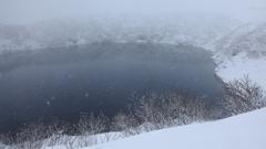吹雪のみくりが池 II