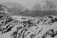 吹雪のみくりが池 スタート