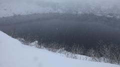 吹雪のみくりが池 I