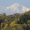 天空の五竜岳