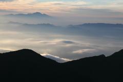 雲 浅間山