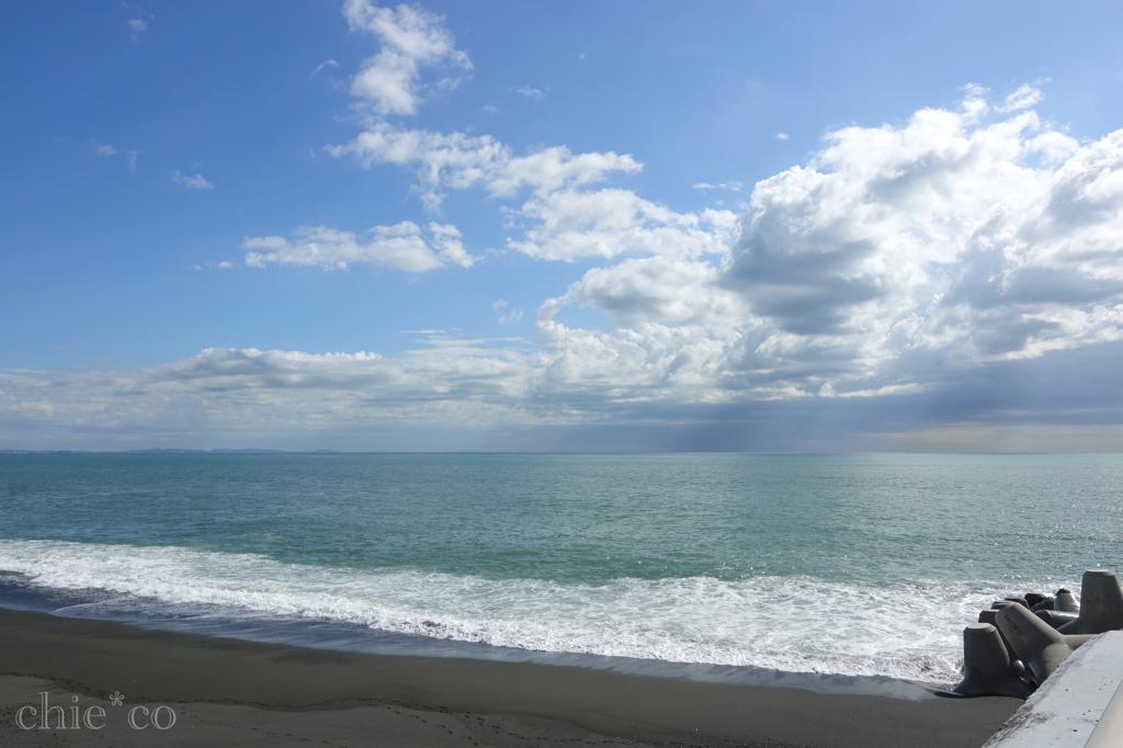 空と雲と海と。。。2